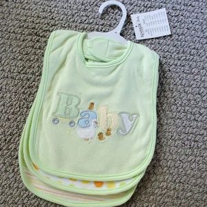 Other - NWT. Set of 3 unisex bibs